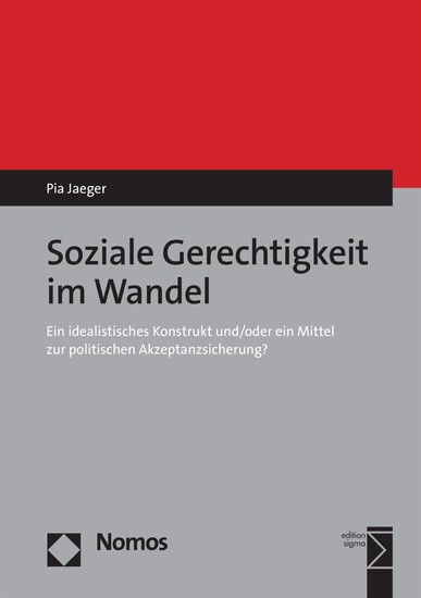 Soziale Gerechtigkeit im Wandel - Blick ins Buch