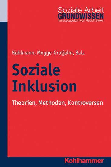 Soziale Inklusion - Blick ins Buch