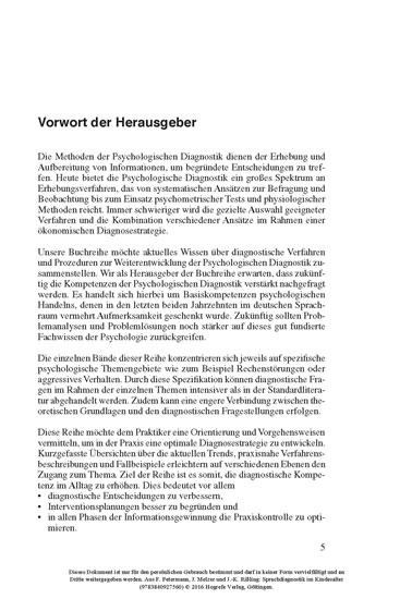 Sprachdiagnostik im Kindesalter - Blick ins Buch