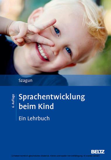 Sprachentwicklung beim Kind - Blick ins Buch