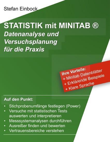 Statistik mit Minitab - Blick ins Buch