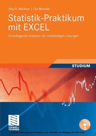 Statistik-Praktikum mit Excel - Blick ins Buch