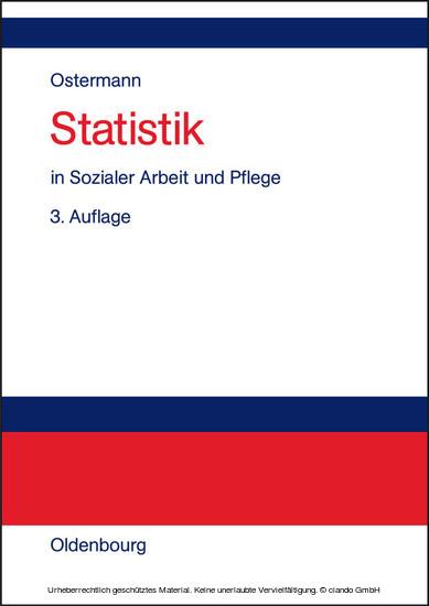 Statistik in Sozialer Arbeit und Pflege - Blick ins Buch