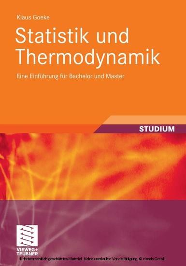 Statistik und Thermodynamik - Blick ins Buch