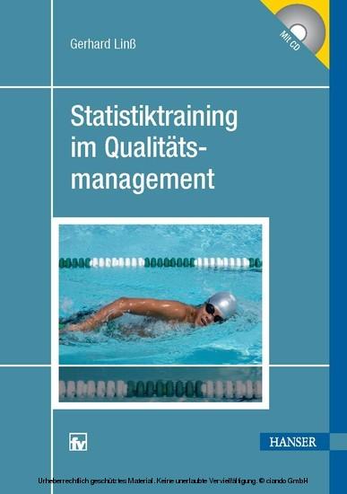 Statistiktraining im Qualitätsmanagement - Blick ins Buch