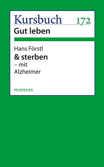 & sterben - mit Alzheimer - Blick ins Buch