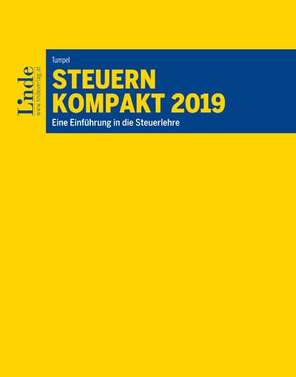 Steuern kompakt 2019 - Blick ins Buch