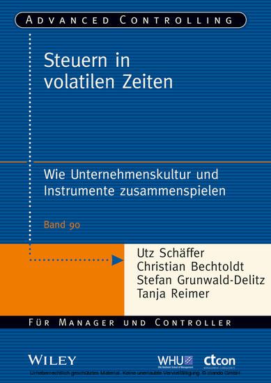 Steuern in volatilen Zeiten - Blick ins Buch