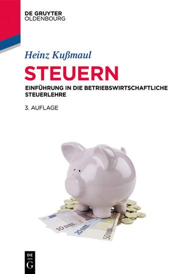 Steuern - Blick ins Buch