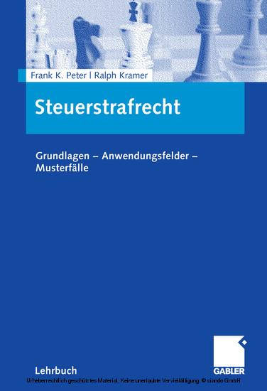Steuerstrafrecht - Blick ins Buch