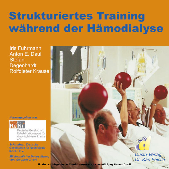 Strukturiertes Training während der Hämodialyse - Blick ins Buch
