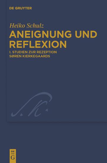 Studien zur Rezeption Søren Kierkegaards - Blick ins Buch