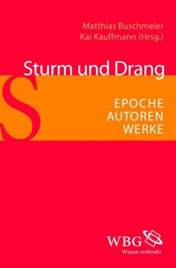 Sturm und Drang - Blick ins Buch