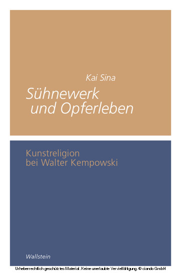 Sühnewerk und Opferleben - Blick ins Buch