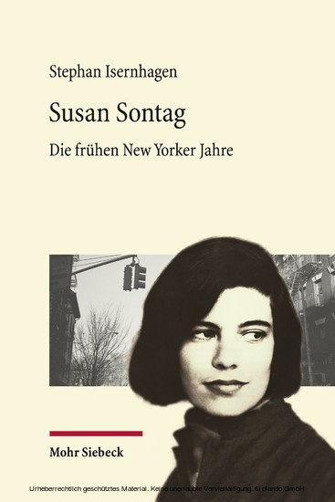 Susan Sontag - Blick ins Buch