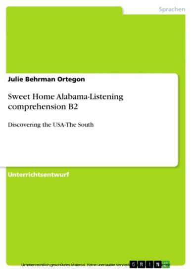 Sweet Home Alabama-Listening comprehension B2 - Blick ins Buch