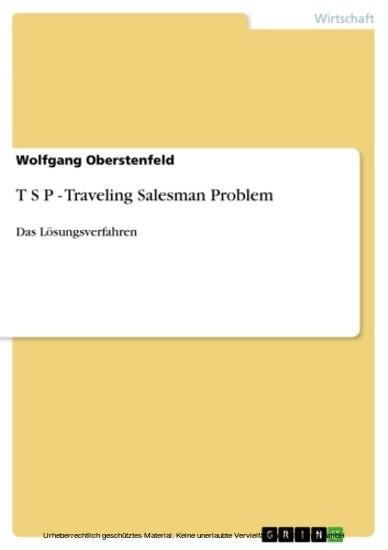 T S P - Traveling Salesman Problem - Blick ins Buch