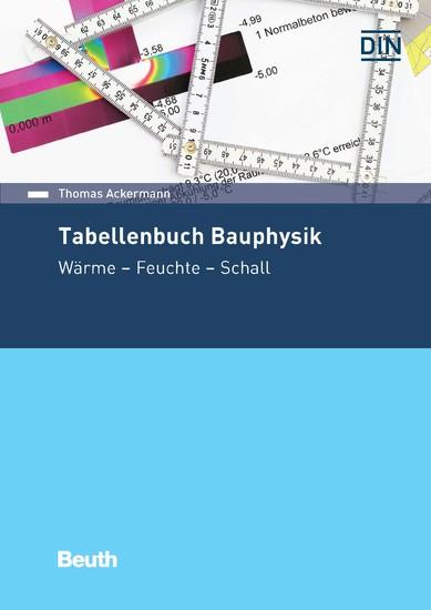 Tabellenbuch Bauphysik - Blick ins Buch