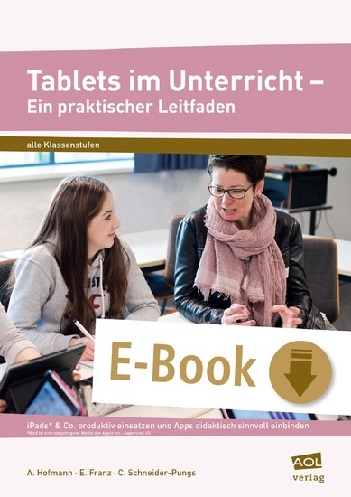 Tablets im Unterricht - Ein praktischer Leitfaden - Blick ins Buch