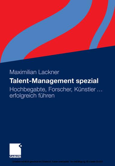 Talent-Management spezial - Blick ins Buch