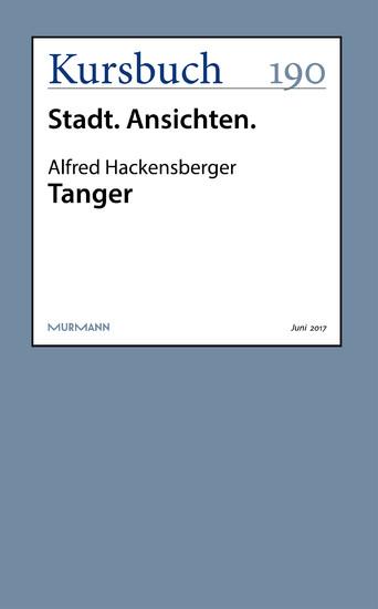 Tanger - Blick ins Buch