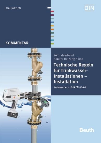 Technische Regeln für Trinkwasser-Installationen - Blick ins Buch