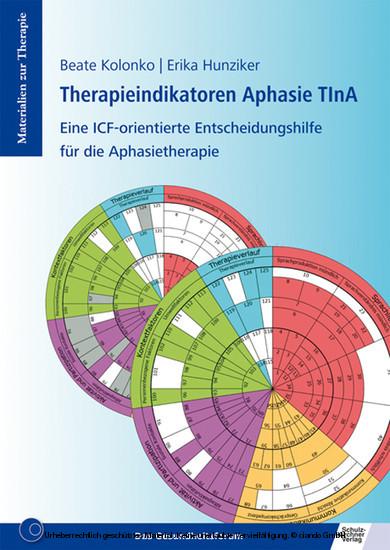 Therapieindikatoren Aphasie TInA - Blick ins Buch