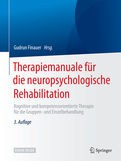 Therapiemanuale für die neuropsychologische Rehabilitation - Blick ins Buch