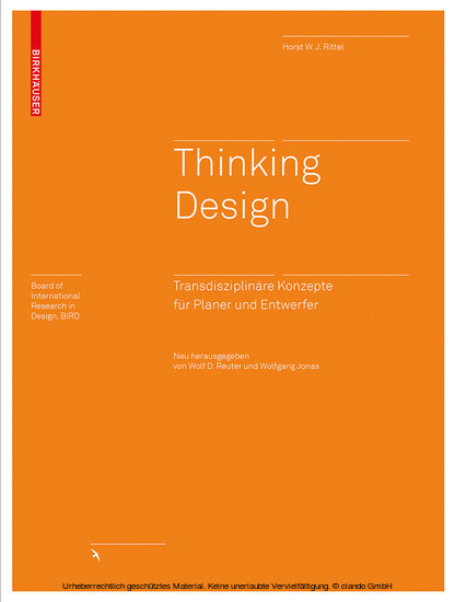 Thinking Design - Blick ins Buch