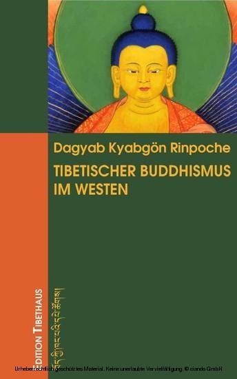 Tibetischer Buddhismus im Westen - Blick ins Buch