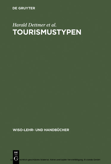 Tourismustypen - Blick ins Buch