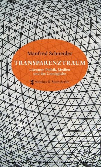 Transparenztraum - Blick ins Buch