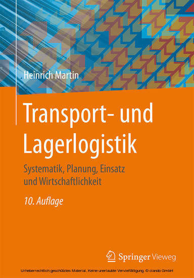 Transport- und Lagerlogistik - Blick ins Buch