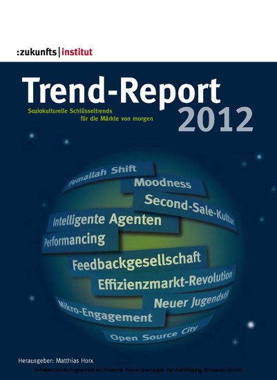 Trend-Report 2012 - Blick ins Buch