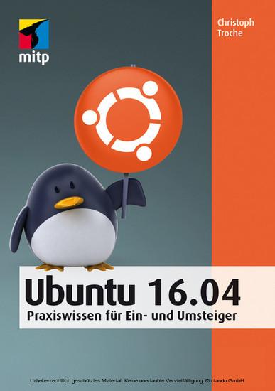 Ubuntu 16.04 - Blick ins Buch