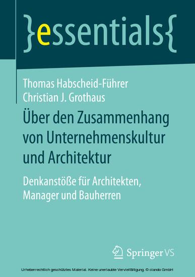 Über den Zusammenhang von Unternehmenskultur und Architektur - Blick ins Buch