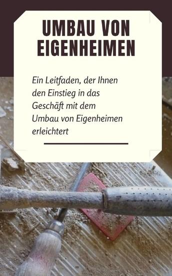 Umbau von Eigenheimen - Blick ins Buch