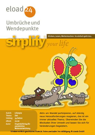 Umbrüche und Wendepunkte - Blick ins Buch