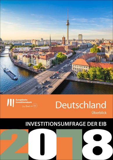 Umfrage der EIB zur Investitionstätigkeit - Überblick für Deutschland - Blick ins Buch
