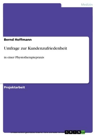 Umfrage zur Kundenzufriedenheit - Blick ins Buch