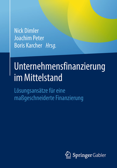 Unternehmensfinanzierung im Mittelstand - Blick ins Buch