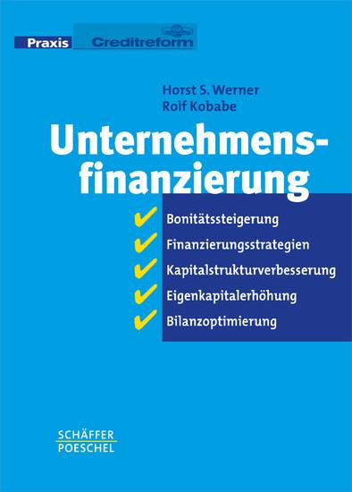 Unternehmensfinanzierung - Blick ins Buch