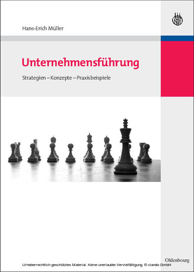 Unternehmensführung - Blick ins Buch