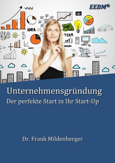 Unternehmensgründung - Blick ins Buch