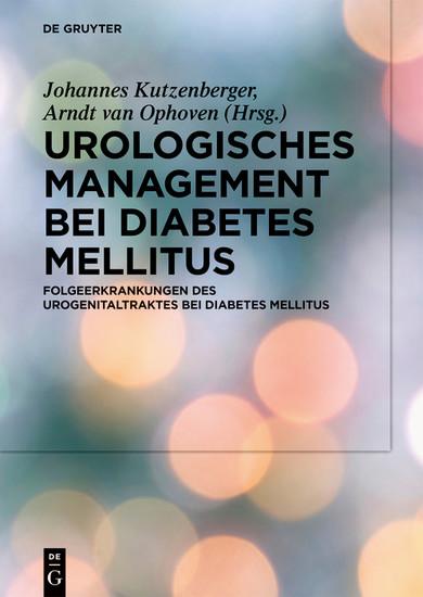 Urologisches Management bei Diabetes mellitus - Blick ins Buch