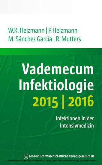 Vademecum Infektiologie 2015/2016 - Blick ins Buch