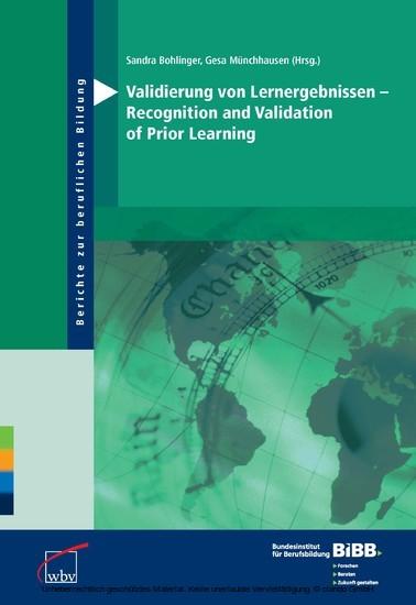 Validierung von Lernergebnissen - Recognition and Validation of Prior Learning - Blick ins Buch