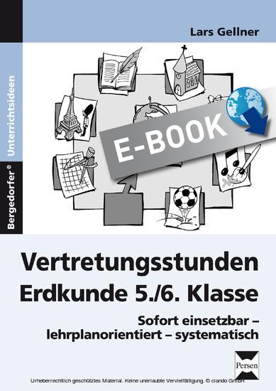 Vertretungsstunden Erdkunde 5./6. Klasse - Blick ins Buch