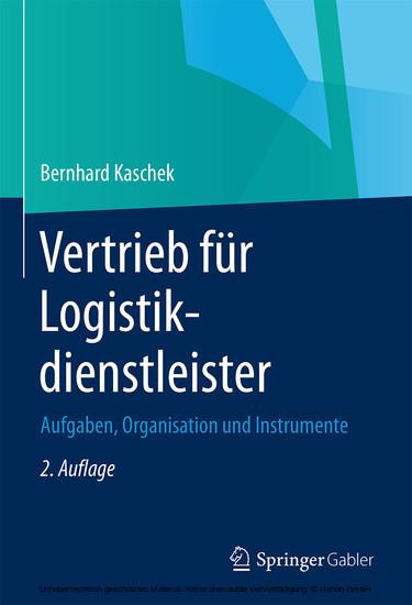 Vertrieb für Logistikdienstleister - Blick ins Buch