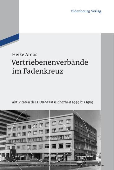 Vertriebenenverbände im Fadenkreuz - Blick ins Buch